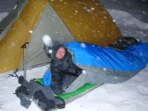 Bivy in the Beartooths