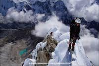 Mushroom ridge on Ama Dablam SW-Ridge