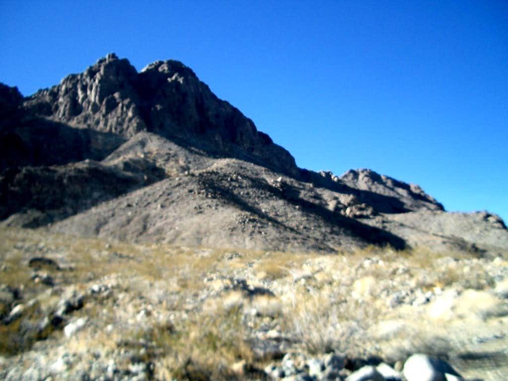 Little Ubehebe Peak(s)