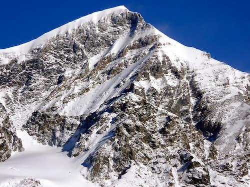 Il Grand Combin de Grafeneire (4314 m.) versante sud