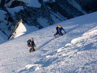 Bionnassay summit slopes