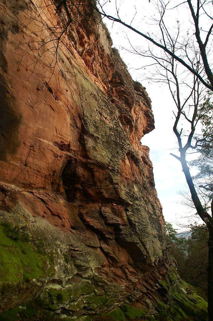 Rödelstein South Face
