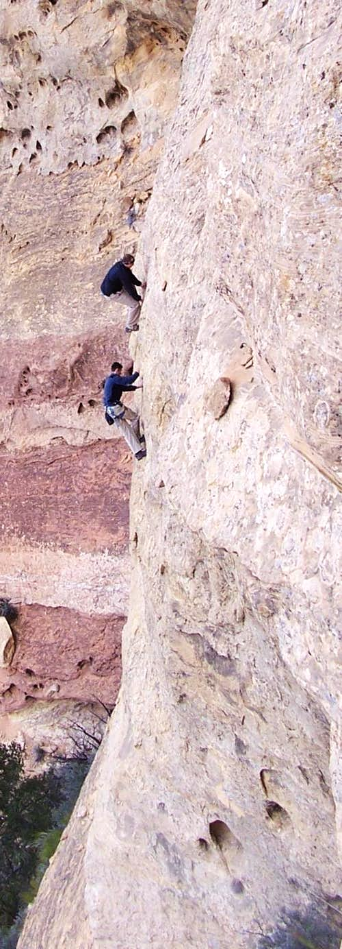 """Free Soloing"""