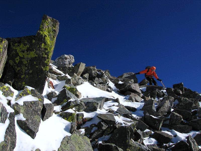 Near Drift Peak summit