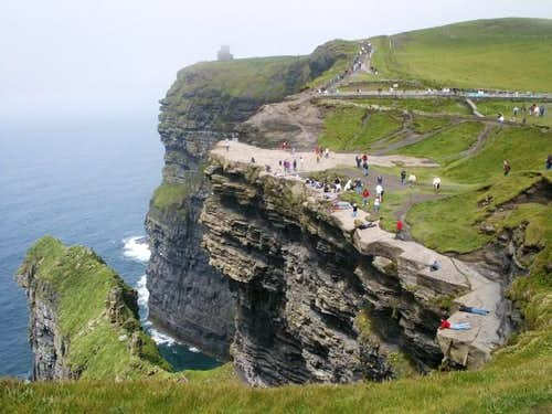 Cliffs of Moher, May 2003.