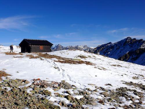 Il bivacco Penne Nere (2730 m) 28-11-2006