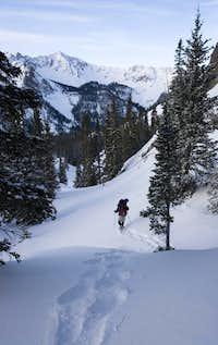Breakiing trail
