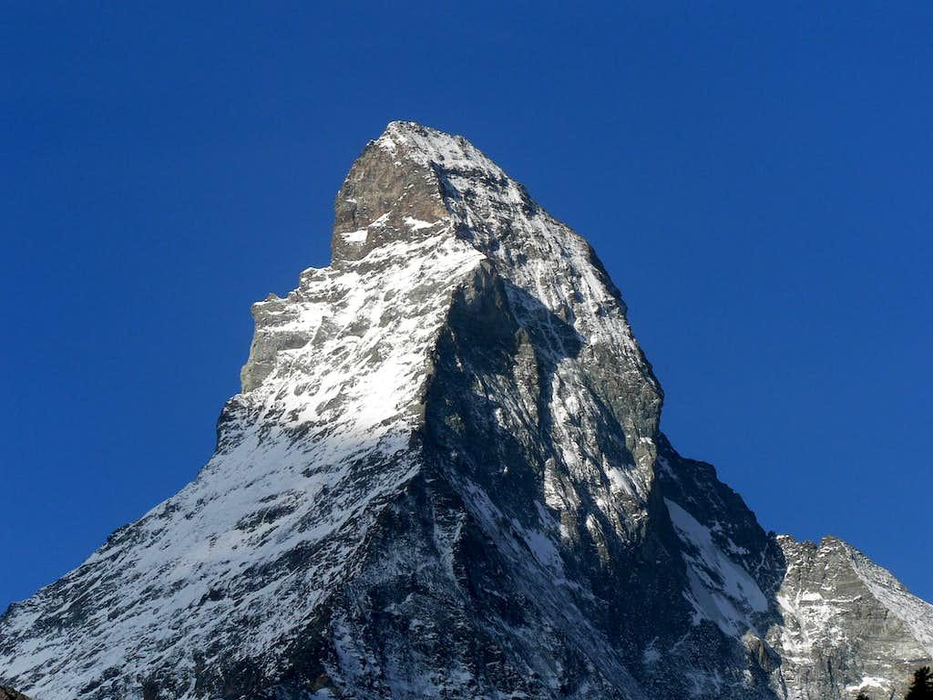 The summit...