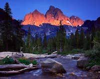 Teton Alpenglow