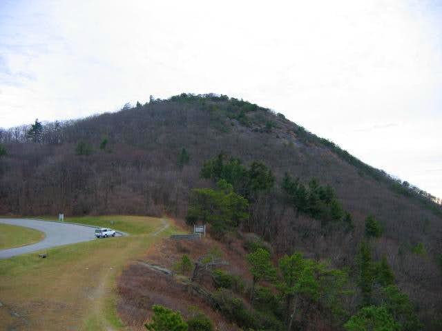 Bluff Mountain (and Alligator Back Cliffs)