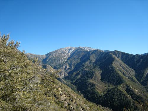 Looking East toward Mt. Baldy and Big Horn Ridge from Iron Mtn.#1\'s South Ridge