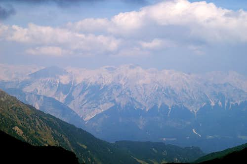 Karwendel View from Naviser Jöchl