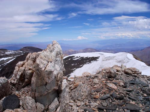 Nevado de Cachi, summit