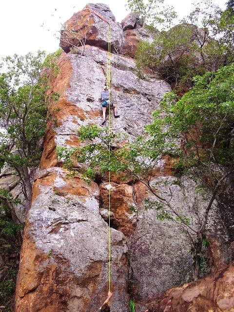 Eli on an Unnamed Route