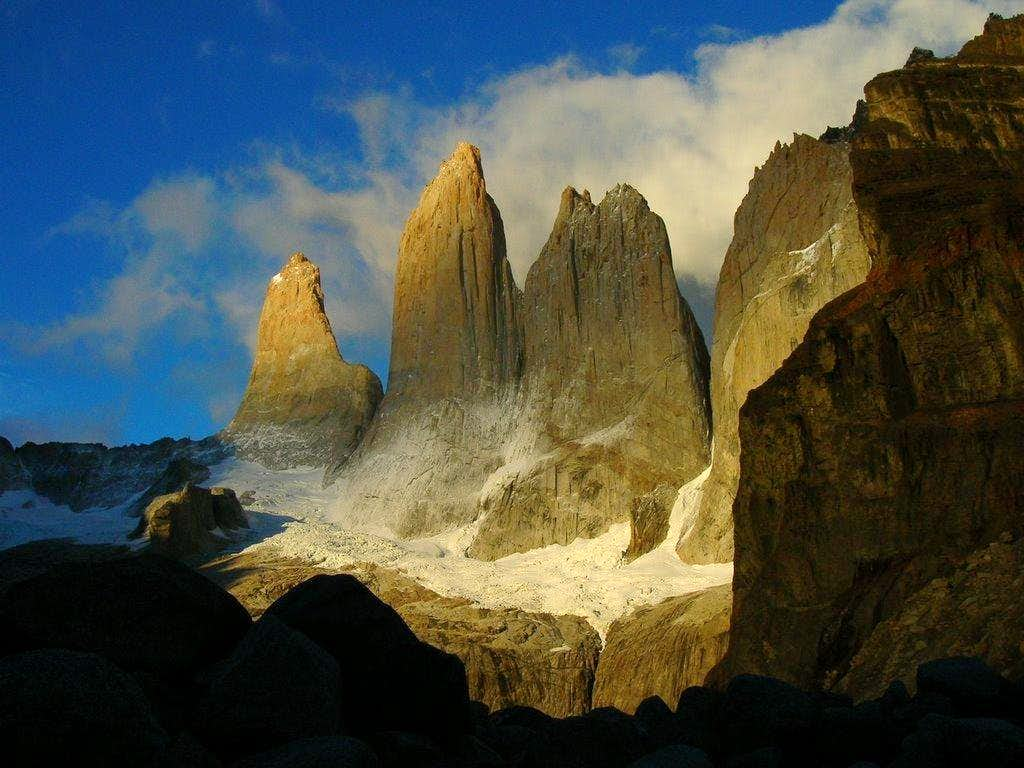 Torres del Paine from East