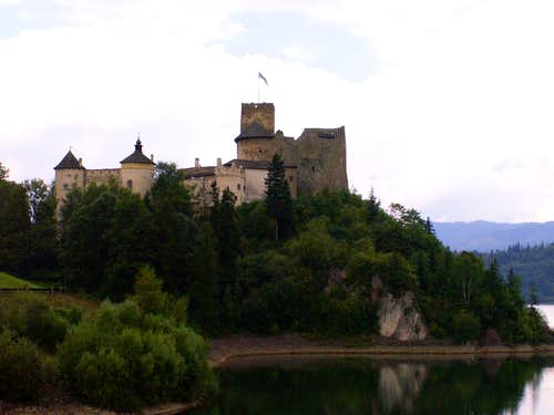 The Niedzica castle...