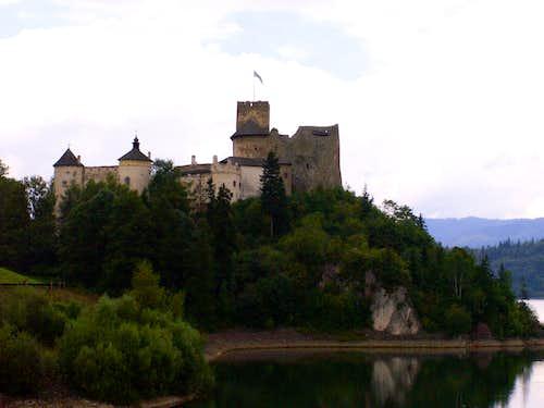 The Niedzica castle...