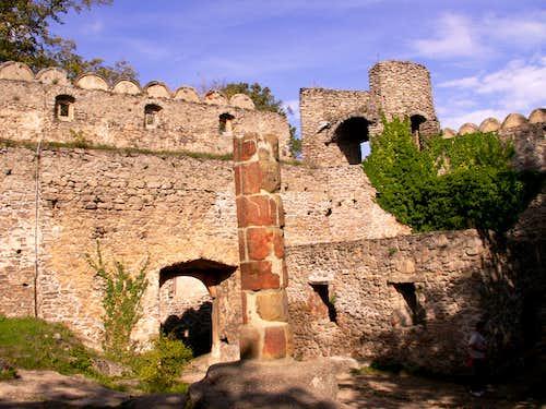 Rocky castles in Poland