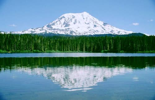 Mt. Adams from the northwest...