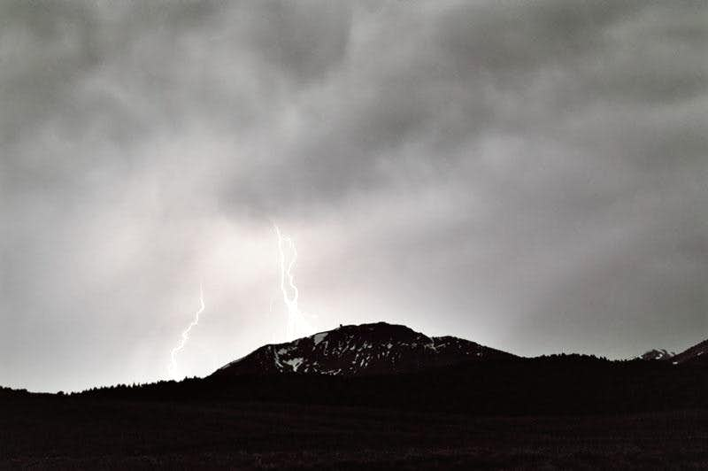 Sawtelle Peak Lightning