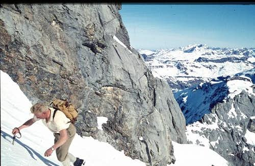 Normal route. East couloir....