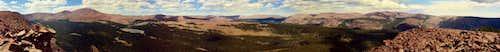Eastern Uinta Panorama