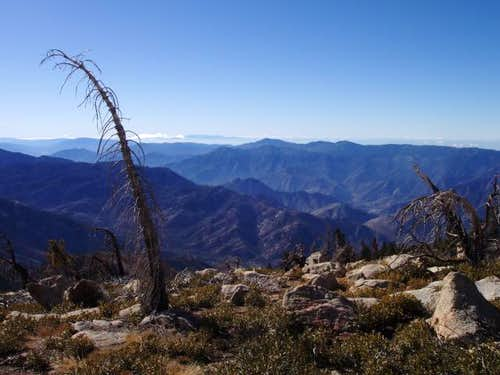 View south from Sherman Peak
