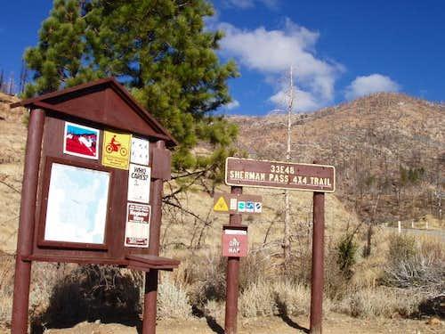 Sherman Peak 4wd Road