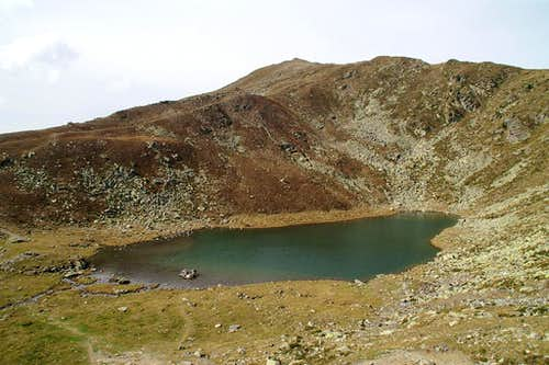 Königsanger Spitze above Radlsee