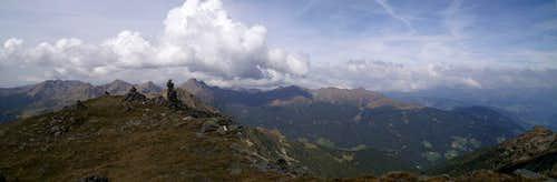 Sarntal Alps as seen from Königsanger Spitze
