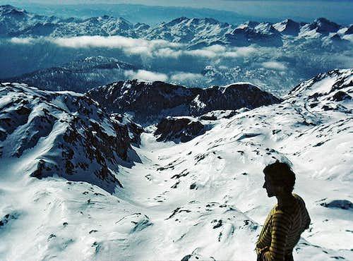 On the summit of Vrsaki