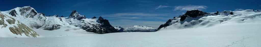 Panorama at Gl. Calluqueo