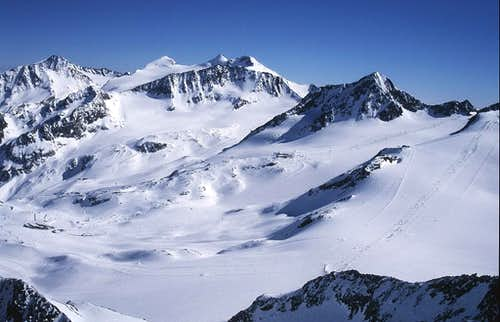 glacier ski resort