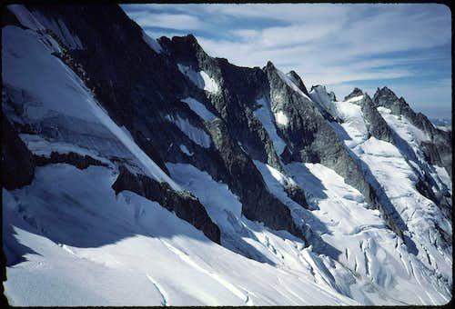 N face of W ridge