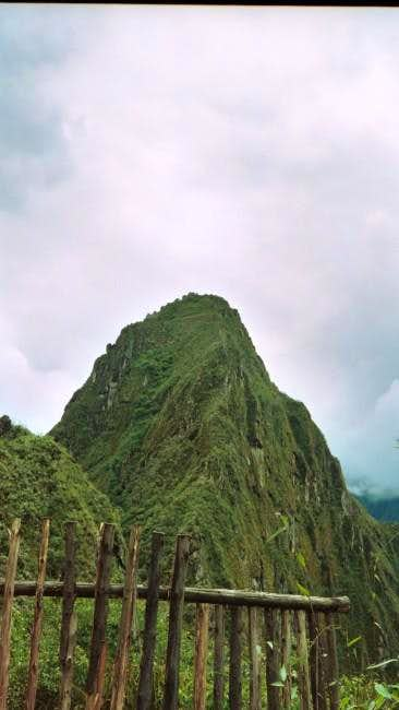Huayna Picchu in March 2003