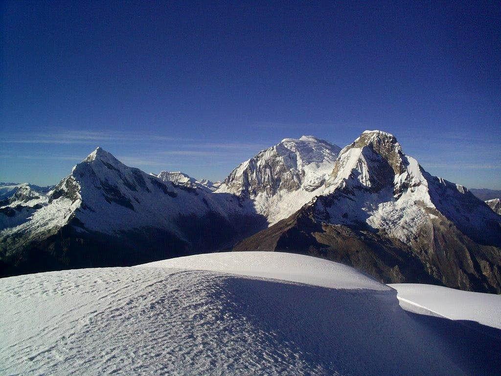 Chopicalqui and Huascaran