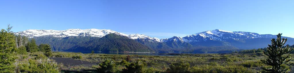 Sierra Nevada Panorama, PN Conquillo, Patagonia, Chile