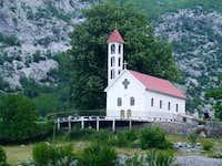 Church in Nikchi (Nikshi) village, Albania