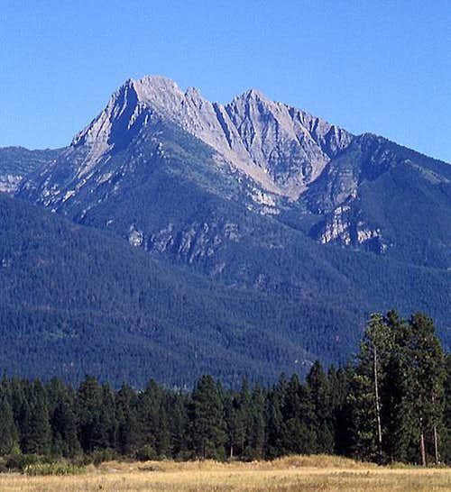 Mount Calowahcan from the NW