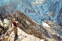 Summit ridge-Independence peak