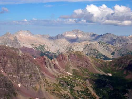Capitol Peak and Snowmass...