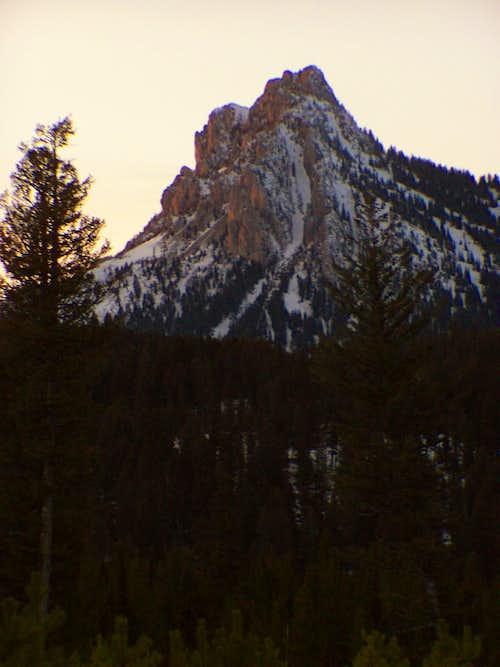 Ross Peak, Sunset
