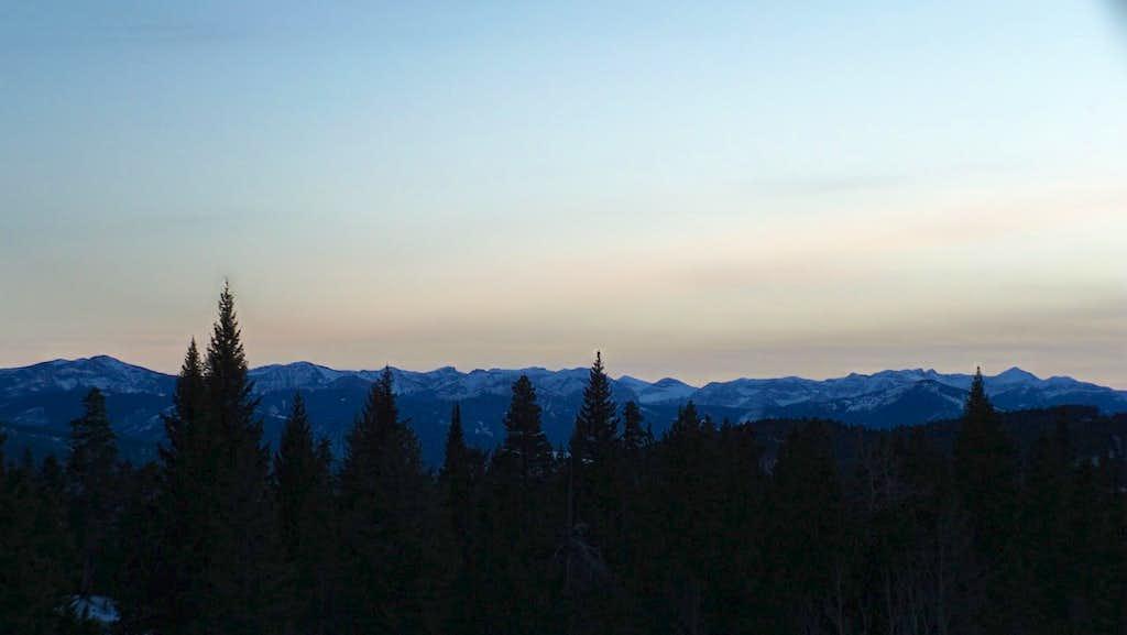 Gallatin Range Panorama