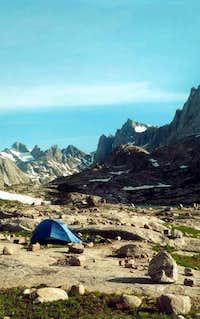 Lower Titcomb Camp