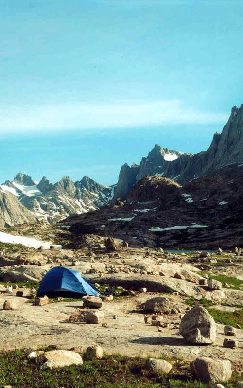 Lower Titcomb Camp