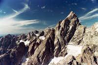 Grand Teton from Teewinot Summit