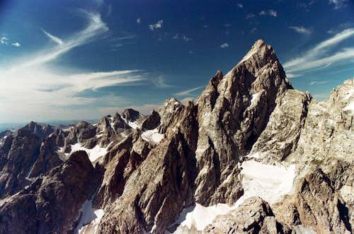 Grand Teton from Teewinot Summit