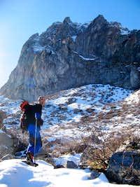 Under the rocks on Krchin Mountain