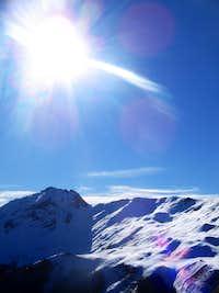 Rudina peek on Krchin mountain (2238m)