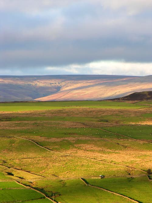Autumn light in the North East Pennines